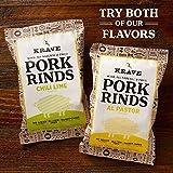 KRAVE Jerky Al Pastor Keto Pork Rinds,  6 Pack of