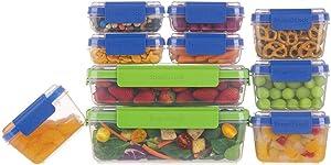 SnapLock by Progressive 20-Piece Container Set, Multicolored