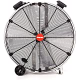Shop-Vac Industrial Drum Fan, 30 Dia., 1/2 HP, Direct Drive, 9,600 CFM, Stainless Steel