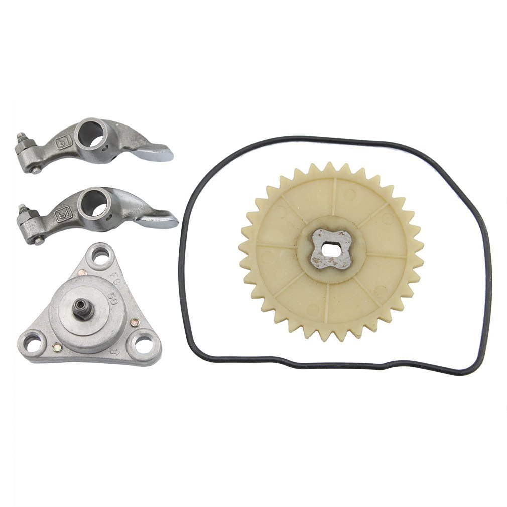 GOOFIT Big Bore Cylinder Rebuild Kit GY6 50cc 139QMB Racing Scooter Parts 64mm Valve by GOOFIT (Image #5)