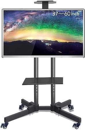 SOAR Supporto De TV, LCD Y Computadora Mobile TV Stand Cesta de 37-60 Pulgadas con la Rueda Altura de la Base de TV Soporte Ajustable Base: Amazon.es: Electrónica