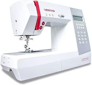 VERITAS 1310 - Máquina de Coser de plástico y Metal, Color Blanco ...