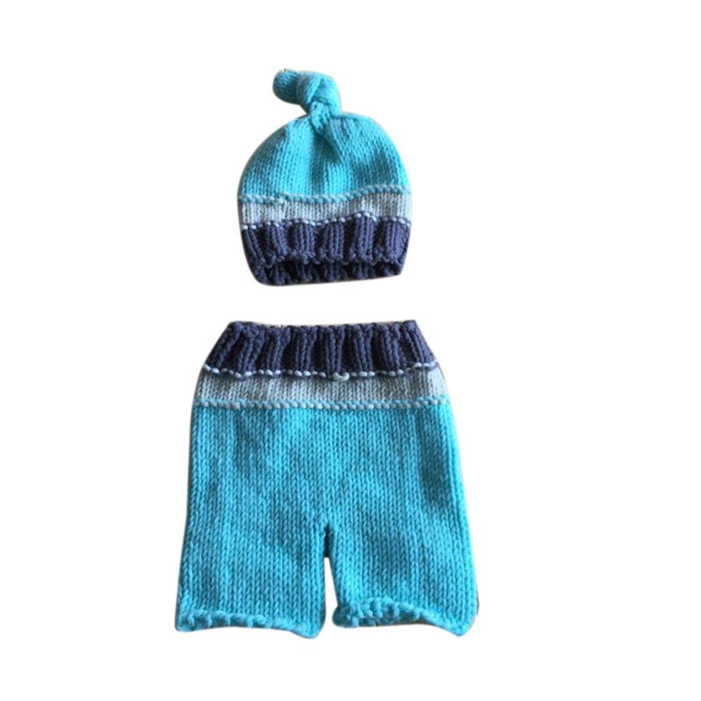 nuolux Baby fotografía Requisiten, recién nacido bebé ganchillo gorro de lana de pantalones: Amazon.es: Bebé