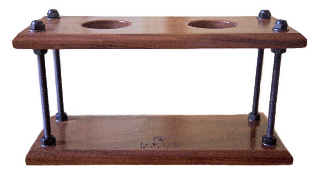 Opus Macaw Pour Over Coffee Stand (Walnut, 7.5Wx14L)