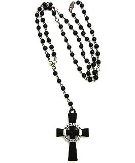 Veritas Aequitas Saints Cross Rosary w/5mm 39