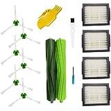 Repuestos para aspiradora iRobot Roomba i7 i7Plus e5 e6 e7 Reposición (4 filtros, 6