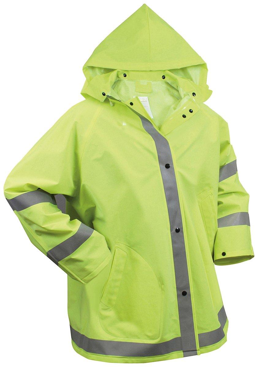 Amazon.com : Rothco Reflective Rain Jacket : Sports & Outdoors