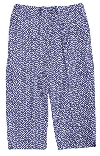 ヒョウ牧師良さAlfred Dunner PANTS レディース US サイズ: 10 カラー: ブルー