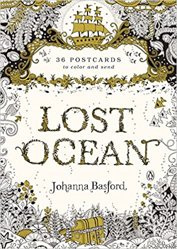 Amazon Lost Ocean 36 Postcards To Color And Send 9780143110217 Johanna Basford Books