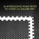 ProsourceFit Puzzle Exercise Mat, EVA Foam