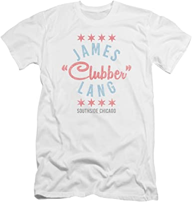 """Rocky Movie James /""""CLUBBER/"""" Lang Southside Chicago T-Shirt All Sizes"""