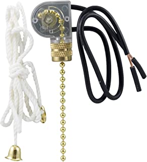 zing ear ceiling fan light lamp replacement pull chain switch ze 109