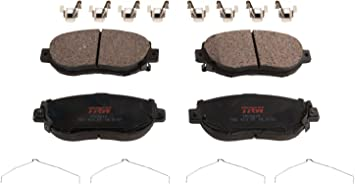 TRW TPC0737 Premium Front Disc Brake Pad Set