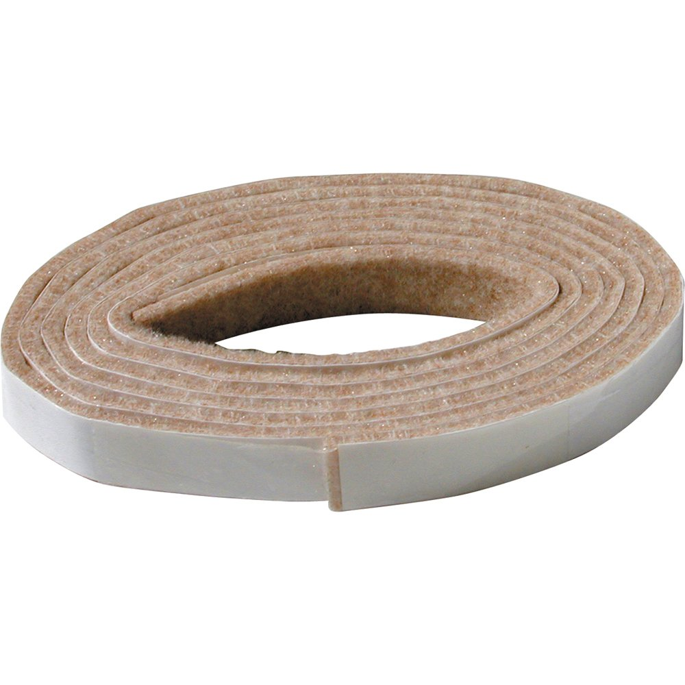Shepherd Hardware 9818 1/2 x 58-Inch Beige Self-Adhesive Felt Furniture Pad Roll