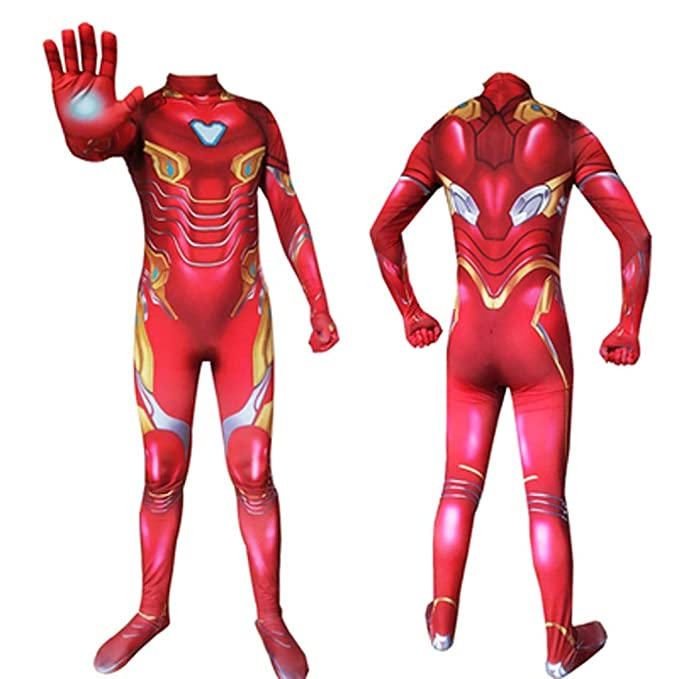 HYYSH Iron Man Heroes Expedition Cosplay Disfraz Avengers Adulto ...