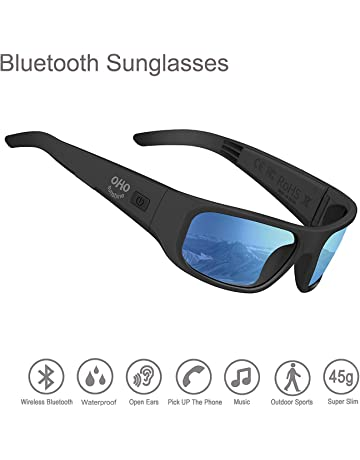 ebca25f0c Waterproof Audio Sunglasses,Open Ear Bluetooth Sunglasses to Listen Music  and Make Phone Calls with
