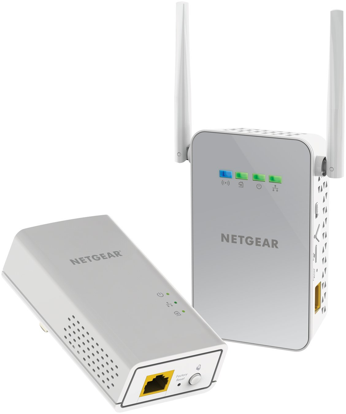 NETGEAR Powerline 1000 Mbps WiFi, 802.11ac, 1 Gigabit Port (PLW1000-100NAS) by NETGEAR