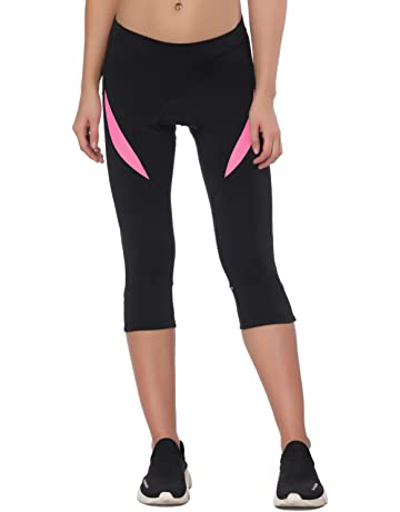 4a6a9e961a8ba Santic Women's Cycling Shorts Padded Bicycle Capris Biking Pants Bike Tight  Breathable