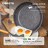 Carote 12-Inch Nonstick Frying Pan Skillet,Stone