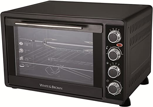 White & Brown MF62 - Horno microondas con grill, 2000 W, color ...