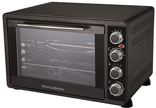 White & Brown MF62 - Horno microondas con grill, 2000 W ...