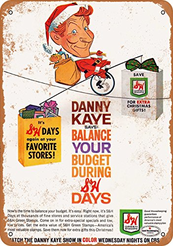 Used, Wall-Color 7 x 10 METAL SIGN - 1965 Danny Kaye S&H for sale  Delivered anywhere in USA