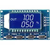 GAOHOU PWM調整可能モジュール信号発生器パルス周波数デューティサイクルLCDディスプレイ