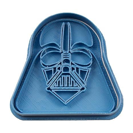 Cuticuter Star Wars Darth Vader Cortador de Galletas, Azul, 8x7x1.5 cm