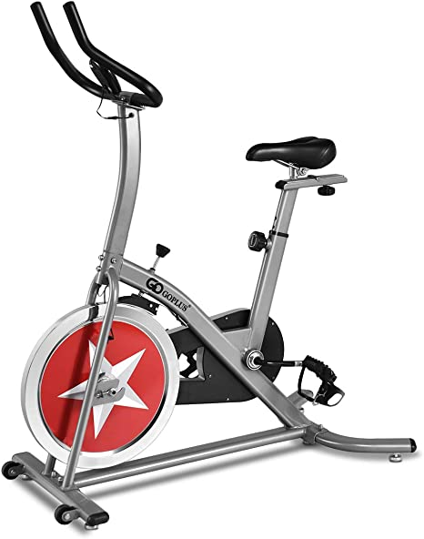 GOPLUS estacionaria Bicicleta Ciclo Indoor Trainer Ajustable ...