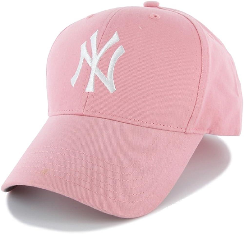 New York Yankees Pink Toddler Adjustable Hat