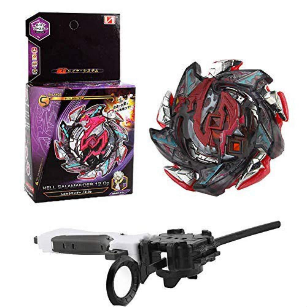 Jugendliche und Erwachsene Kampfkreisel mit Launcher Kinder Wywei 4D Fusion Modell Metall Masters Speed Kreisel