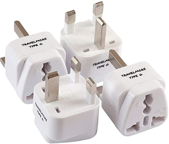 India Sri Lanka Travel Adapter with 2 Outlet Change World Plug 250V 10A 1 PC