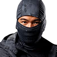 Koly Camouflage Outdoor Hunting Climbing Cycling Motorcycle Hood Head Protector Hat Cap Full Face Mask