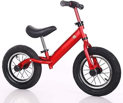 Bicicleta de Equilibrio para Niños, Bicicleta sin Pedal para Niños Pequeños con marco de Aleación de Aluminio, Manillar y Asiento Ajustables, Bicicleta para Niños Pequeños para Niños de 3 a 6 Años: