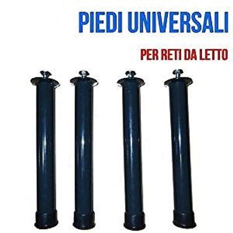 Gambe Per Letto.Set 4 Piedi Per Rete A Doghe Gambe Per Letto Universali In Ferro Con Bulloni Max 40cm 40 Cm