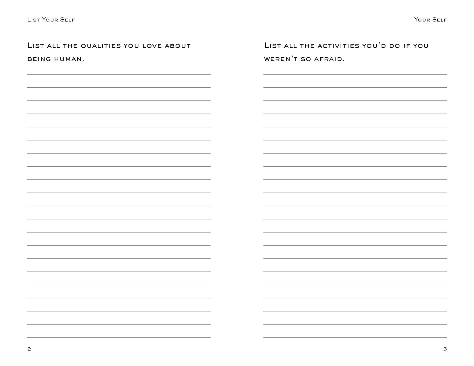 List Your Self: Listmaking as the Way to Self-Discovery: Ilene Segalove,  Paul Bob Velick: 0050837359000: Amazon.com: Books
