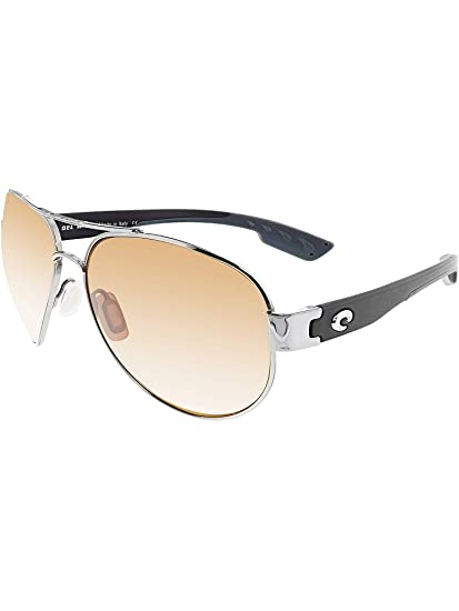 80f58a444b Costa Del Mar South Pt. Sunglasses Palladium Silver Copper Silver Mirror  580Glass