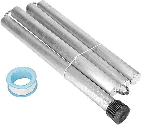 FTVOGUE 4pcs AZ31B Environmental Magnesium Alloy Water Heater Anode Rod NPT3//4 Thread 21 1100mm