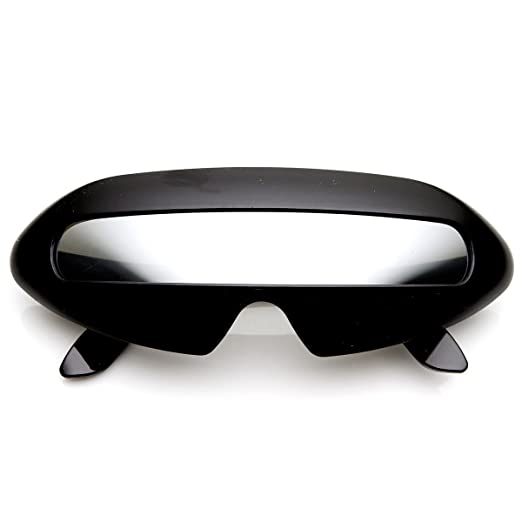 7b63d866fd072 Amazon.com  Futuristic Shield Single Lens Oval Party Novelty Cyclops ...