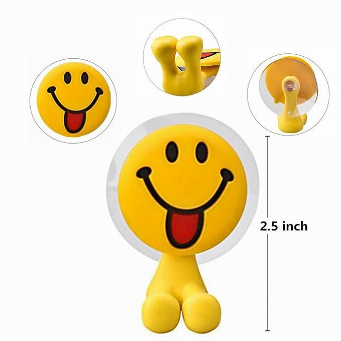 Divertido Emoji Emoticono Juego de soporte para cepillos de dientes cepillo de estilo para niños, ideal para motivar tus hijos a sus dientes, ...
