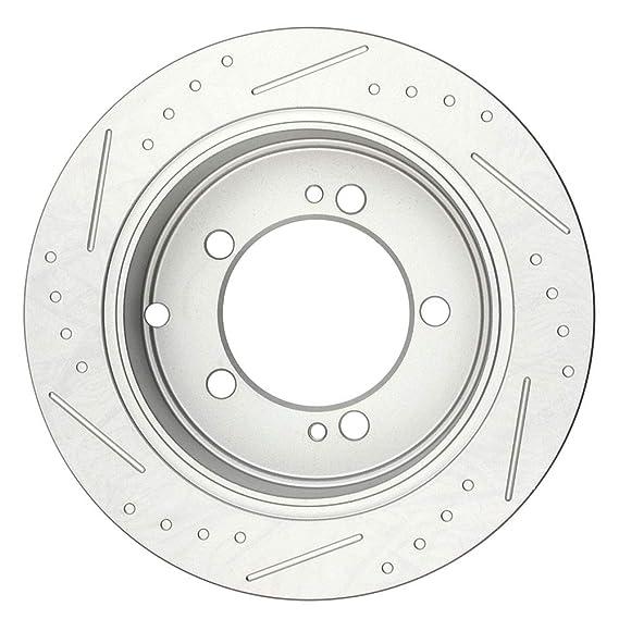 Amazon Com Automuto 2pcs Rear Brake Discs Rotors Brakes Kits Fit