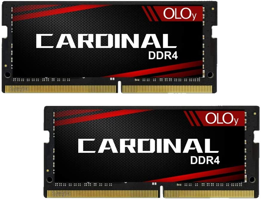 OLOy DDR4 RAM 64GB (2x32GB) 2666 MHz CL19 1.2V 260-Pin Laptop Gaming SODIMM Upgrade for 2019 iMac 27-inch with Retina 5K Display Late 2018 Mac Mini (MD4S322619MZDC)