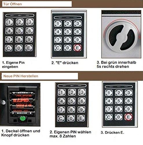 Caja fuerte electrónica por solo 29,50€