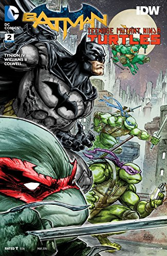 Batman/Teenage Mutant Ninja Turtles (2015-2016) #2