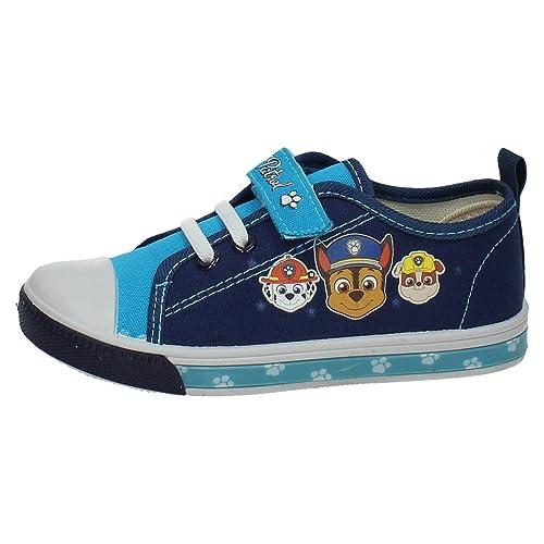 ZAPATOP 2300002438 Bambas con Luces NIÑO Zapatillas Azul 28