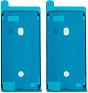 Afeax 2Pcs OEM Screen Adhesive Tape LCD Display Adhesive Replacement for iPhone 8 Plus Black Front Housing Frame Waterproof Pre-Cut Seal Stickers Waterproof Repair Adhesive Glue
