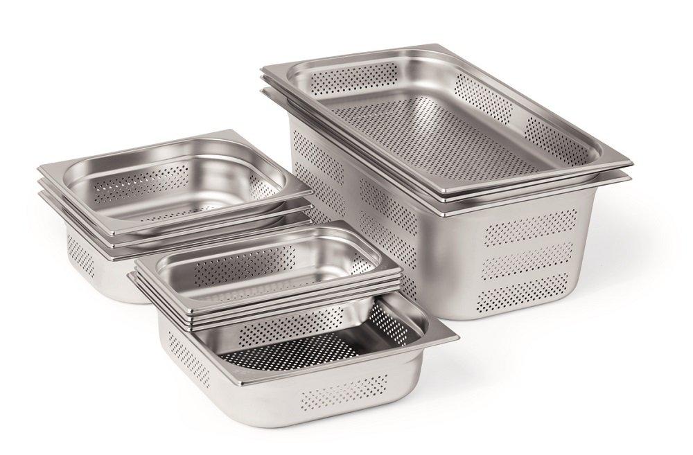 Größe wählbar Gastronormdeckel Edelstahl für GN-Behälter