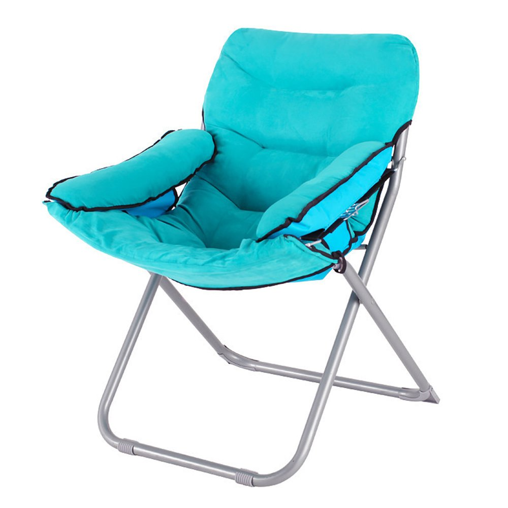 Computer chair / home lazy chair / folding college dormitory balcony office chaise longue / bedroom game chair / chair 65 66 43 / 95cm ( Color : 10 )
