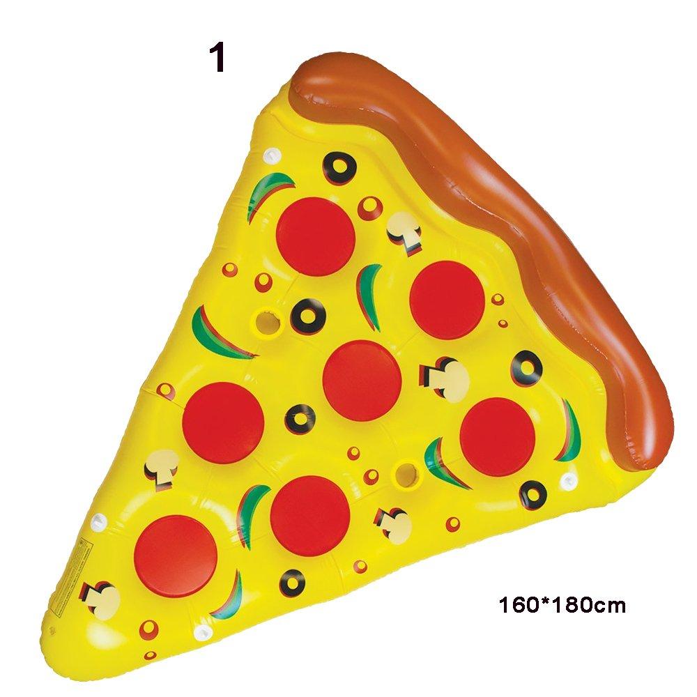 Aufblasbare Riesen Adult Swim Wasserschwimmer-Pool-Spielzeug Wassermelone / Zitrone / Pizza / Doughnut / Ananas / Biss