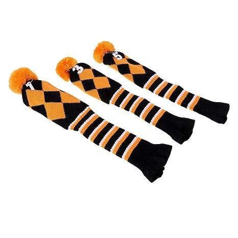 SGerste - 3 Fundas para Cabezas de pompón, Color Naranja ...